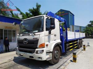 xe cẩu Hino FL8JW7A 12T8 gắn cẩu Tadano TM-ZE554MH