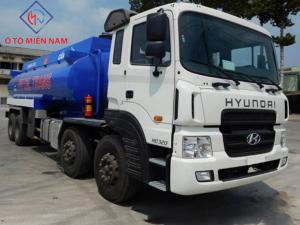 Xe tải Hyundai HD320 chở xăng 22 khối 16 tấn
