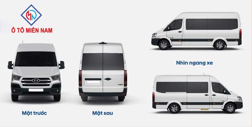 ngoại thất Hyundai Solati 16 Chỗ